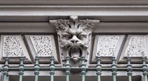 Maske des Steins Stockfotos