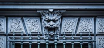 Maske des Steins Stockfoto