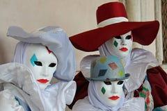Maske - Karneval - Venedig irgendein pics vom fetten Dienstag in Venedig Lizenzfreies Stockfoto