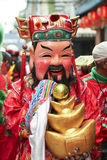 Maske von Fu Lu Shou Lizenzfreie Stockfotografie
