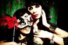 Masked Stock Image