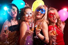 Masked ball Stock Photography