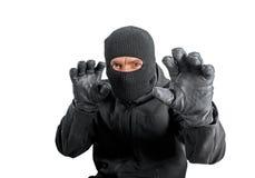 Masked criminal Royalty Free Stock Photography