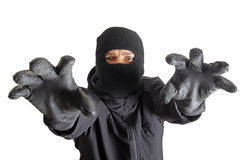 Masked criminal Stock Photos