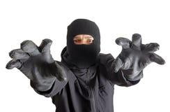 Masked criminal Stock Photos