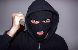 Masked Criminal Stock Photography