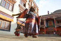 The masked dance festival in Lamayuru Monastery (India) Stock Photography