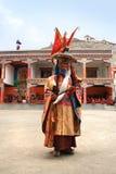 The masked dance festival in Lamayuru Monastery (India) Royalty Free Stock Image