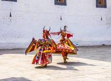 Masked dancer Stock Images