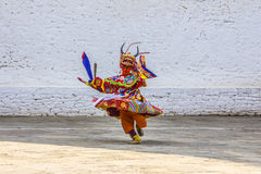 Masked dancer Stock Photo