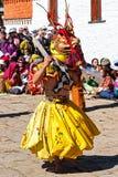 Traditional festival in Bumthang, Bhutan Stock Photos