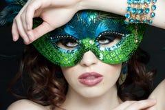 Masked Female Stock Photos