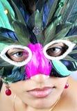 Masked girl Stock Photography