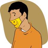 Masked Man Royalty Free Stock Photo