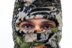 Masked man Royalty Free Stock Photos