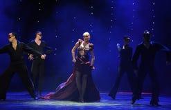 The Masked Queen-India memories-the Austria's world Dance Stock Photos