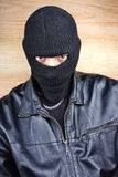 Masked thief Stock Photos