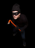 Masked thief Royalty Free Stock Images