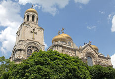 Cathedral in Varna, Bulgaria royalty free stock photo