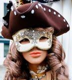 Masked Venitian manakin Stock Photography
