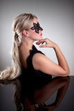 Masked Woman Royalty Free Stock Images