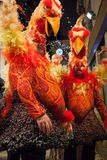 Masken auf venetianischem Karneval, Venedig, Italien lizenzfreie stockfotografie