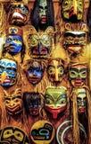 Masken des amerikanischen Ureinwohners Lizenzfreie Stockbilder