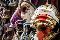 Masken in Florence Tuscany lizenzfreie stockbilder