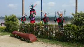 Masken-Kultur von Thailand lizenzfreie stockfotografie