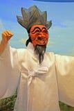 Masken-Tanz Koreas Andong stockfotos