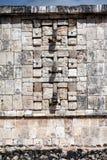 Masken von Chac, der alte Mayagott des Regens und des Blitzes Stockbilder