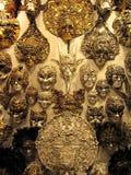 Maskenkunstgesicht stockfotos