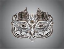 Maskenzusammenfassung Stockfoto