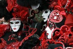 Masker - Carnaval - Venetië Stock Foto