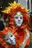 Masker - Carnaval - Venetië - Italië royalty-vrije stock foto's