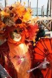 Masker - Carnaval - Venetië sommige pics van de vette dinsdag in Venetië Royalty-vrije Stock Foto