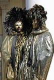 Masker - Carnaval - Venetië sommige pics van de vette dinsdag in Venetië Stock Foto