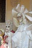 Masker - Carnaval - Venetië sommige pics van de vette dinsdag in Venetië Royalty-vrije Stock Foto's