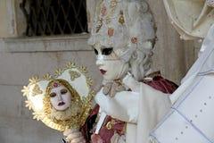 Masker - Carnaval - Venetië sommige pics van de vette dinsdag in Venetië Stock Afbeeldingen