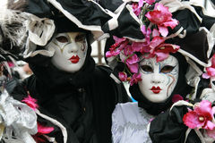 Masker - Carnaval - Venetië Royalty-vrije Stock Afbeeldingen