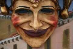 Masker: joker Royalty-vrije Stock Afbeeldingen