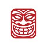 Masker Logo Inspiration voor reizende agentschappen, tropische bar, zaken van de stam de moderne cultuur Royalty-vrije Stock Fotografie