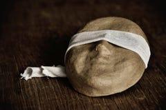 Masker met een blinddoek royalty-vrije stock foto's