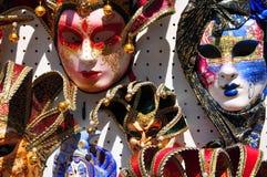 Masker van Carnaval van Venetië Stock Fotografie