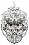 Masker van een vogel Royalty-vrije Stock Afbeeldingen