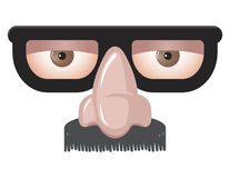 Masker van Groucho Marx Stock Fotografie