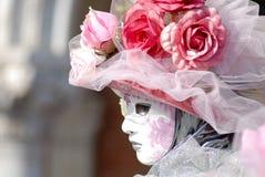 Masker in Venetië Stock Afbeeldingen