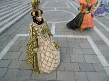 Masker in Venetië Carnaval Royalty-vrije Stock Foto