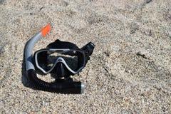 Masker voor het duiken Royalty-vrije Stock Foto's