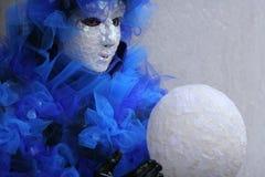 Maskera av Venedig Royaltyfri Fotografi